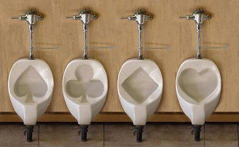 ROYAL FLUSH URINALS - Nathan Allen, The Maniac of Magic - Comedian Magician Entertainer Entertainment  - Des Moines, Iowa