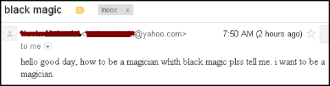 BLACK MAGIC EMAIL Nathan Allen The Maniac of Magic Comedian Magician Entertainer Entertainment Des Moines Iowa
