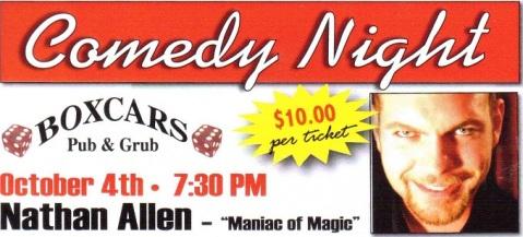 Boxcars-Clinton-Wisconsin-Oct-4-2017-Comedy-Night