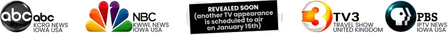 TV appearances - ABC NBC TV3 PBS